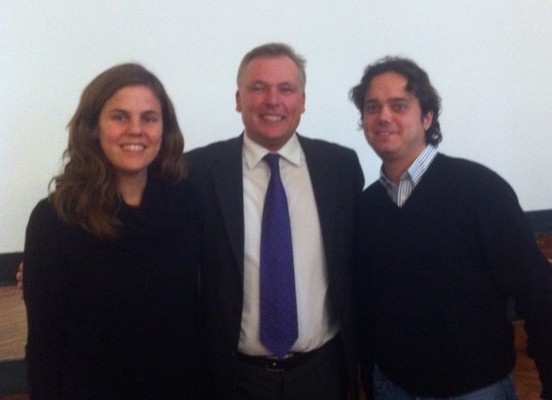 Foto con el Dr. Wiechmann