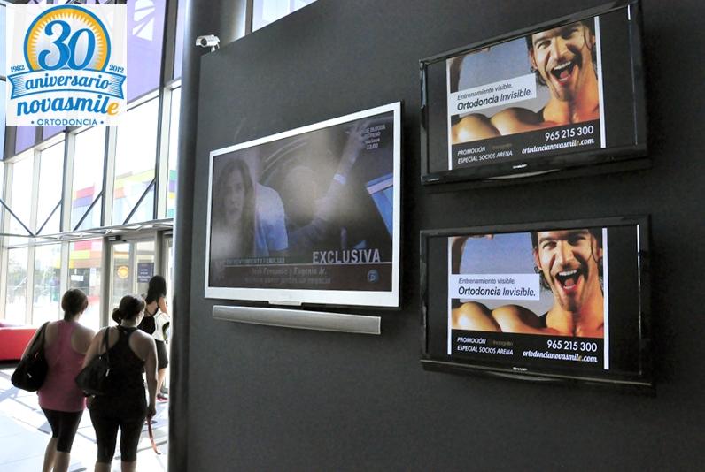 Campaña Novasmile en Arena Alicante