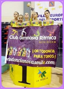 Nuestras Gimnastas Campeonas Del Trofeo La Nucía