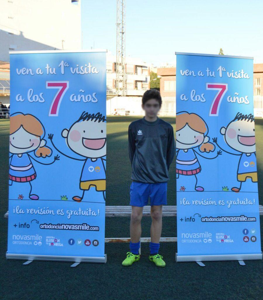 Equipo infantil SCD Carolinas Alicante
