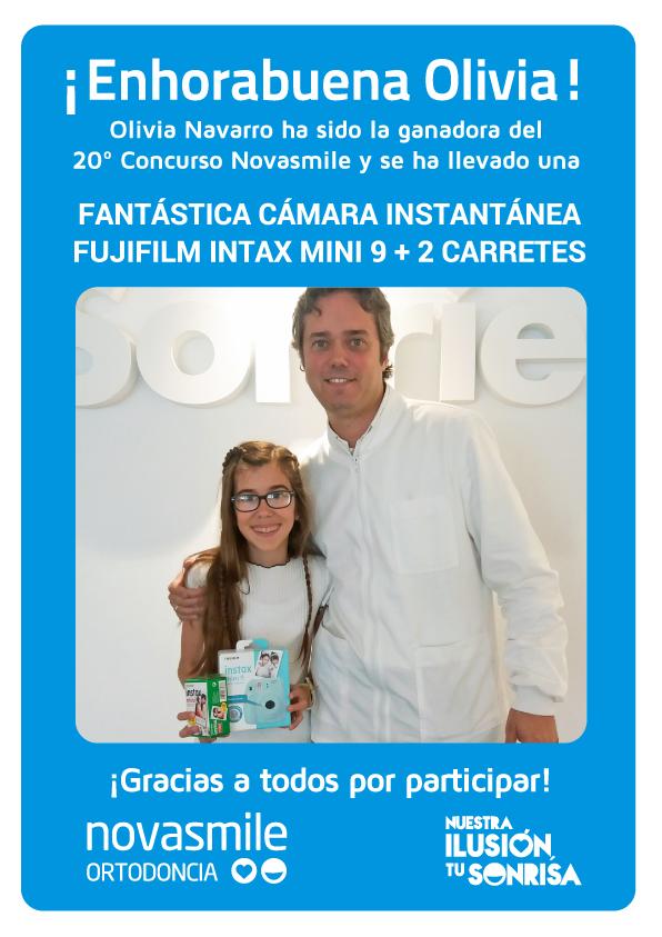 Ganadores de concurso de Novasmile ortodoncias Alicante y Finestrat